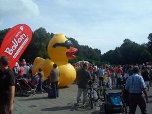 Entenrennen zum Wasserfest 2011