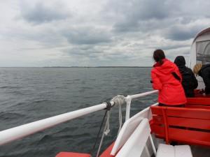 MS Seebär an der Seehund-Sandbank