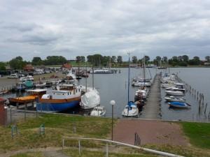 Hafen Kirchdorf auf Poel (mit MS Hanseat)