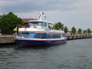 MS Kaspar Ohm, Blaue Flotte, Rostock-Warnemünde