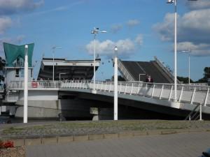 Schlei-Klappbrücke in Kappeln
