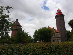 Marineturm und Leuchtturm Dahmeshöved