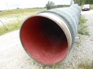 Rohr der Nord-Stream-Pipeline