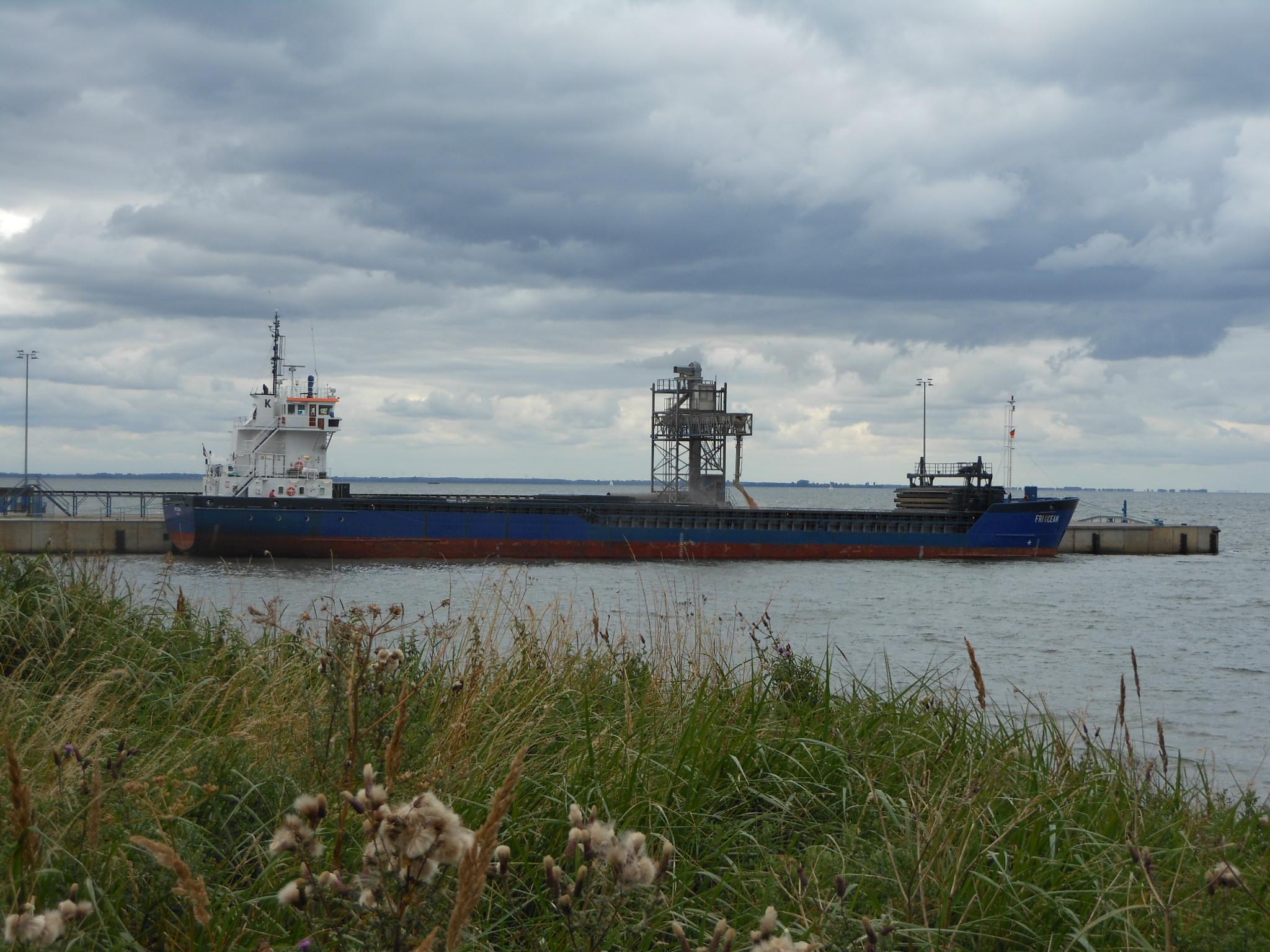Getreidehafen Vierow