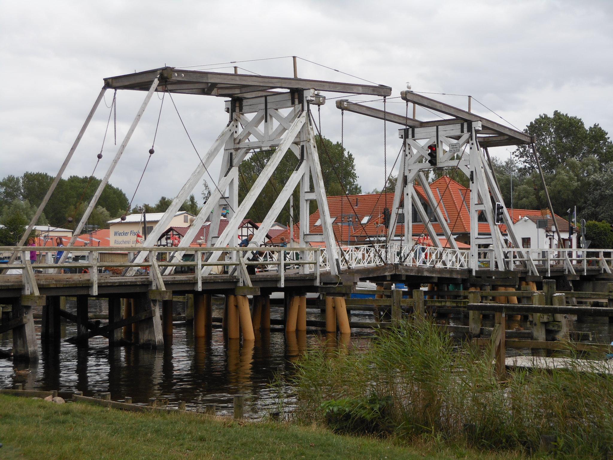 Klappbrücke in Greifswald-Wiek