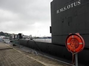 U-Boot im Hafen Sassnitz