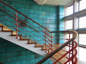 Treppenhaus der Konsumzentrale