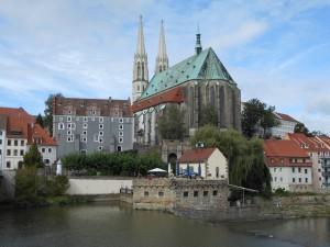 Pfarrkirche St. Peter und Paul (von Polen aus fotografiert)