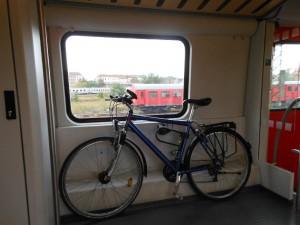 Zug nach Chemnitz