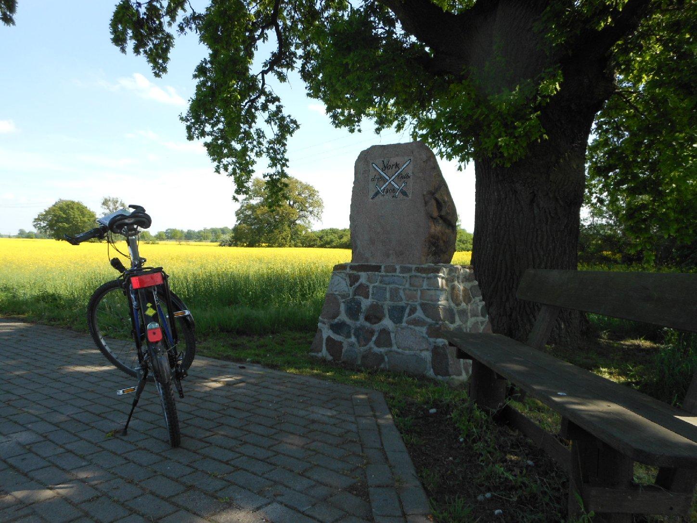 Gedenkstein bei Osterholz