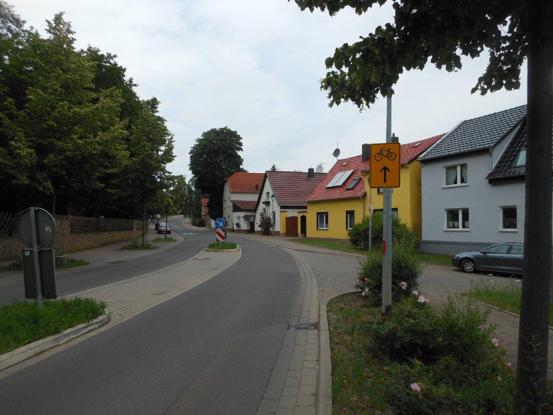 Saale-Radweg-Umleitung