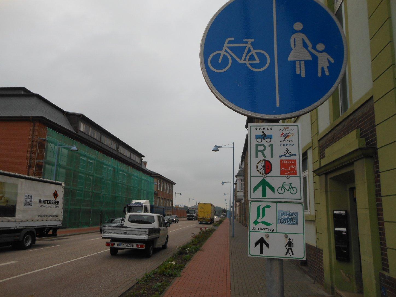 Saale-Radweg Bernburg