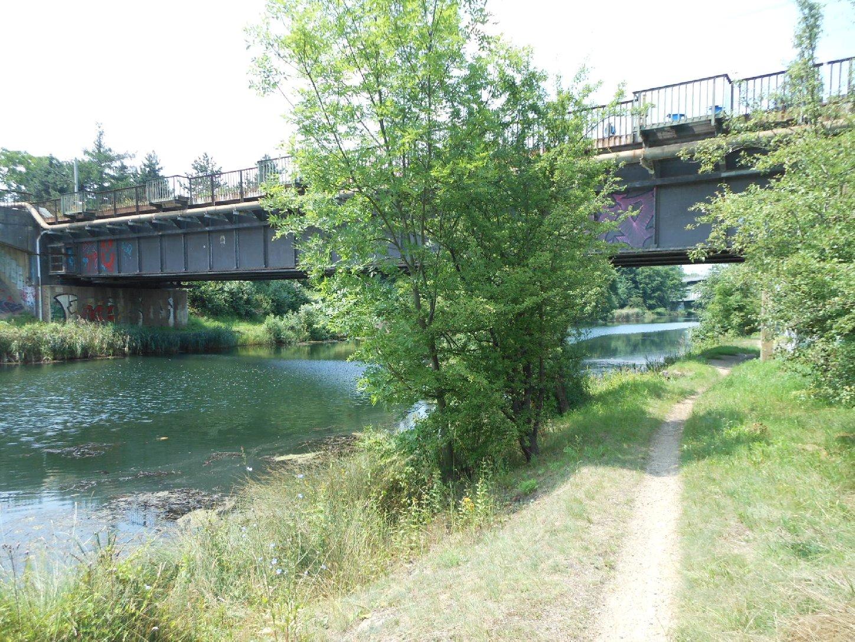Eisenbahnbrücke Burghausen