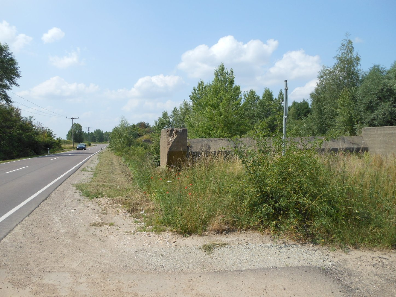 Brückenfundament bei Wallendorf