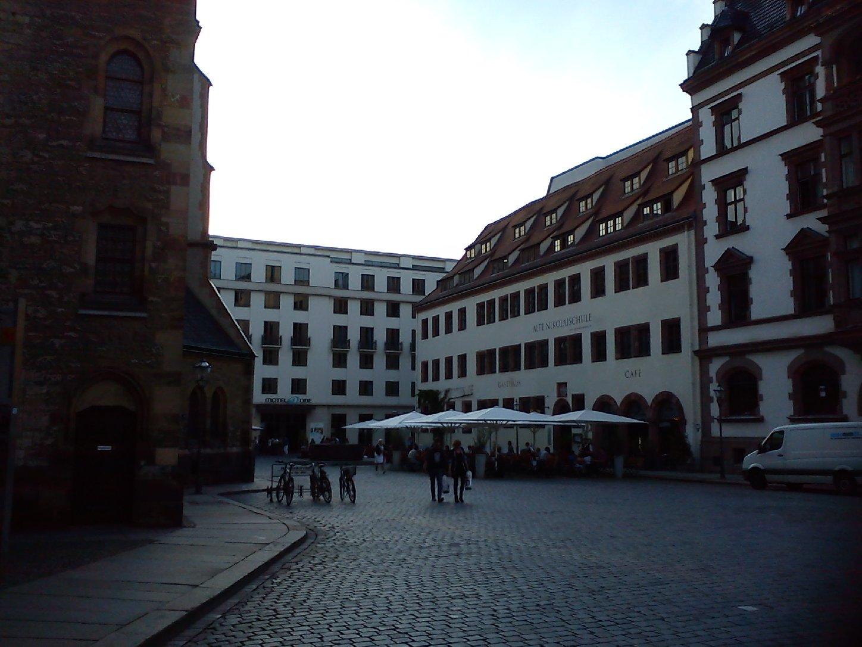 Nikolaikirche und Alte Nikolaischule