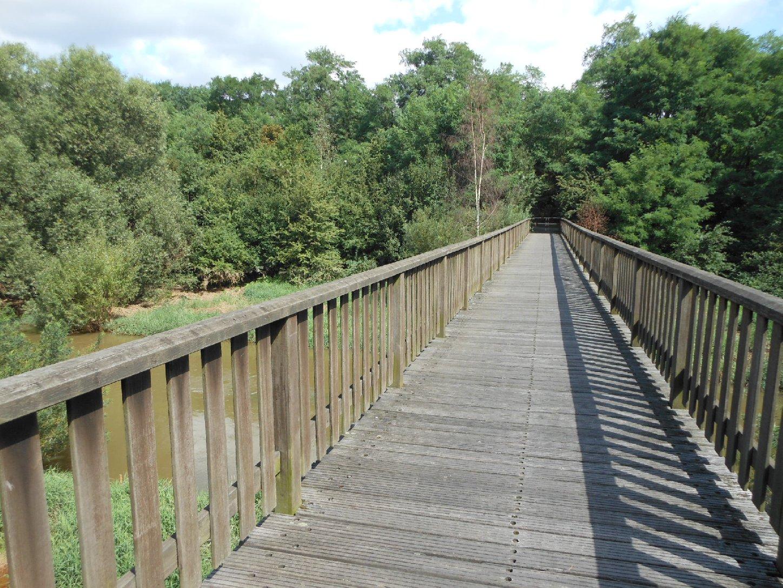 Holzbrücke Neukieritzsch