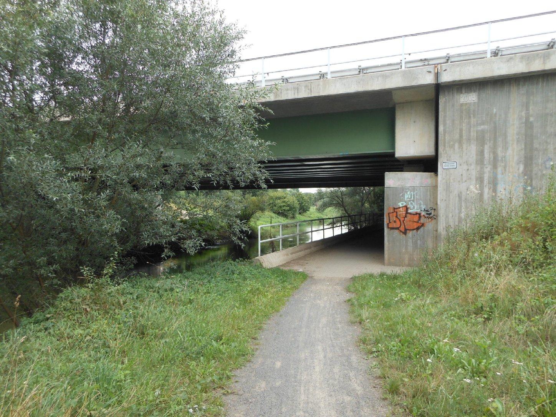 Autobahnbrücke bei Schkeuditz