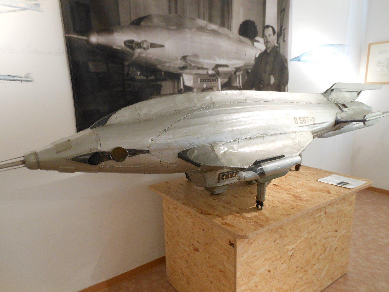 Raumschiff-Modell von Karl Hans Janke