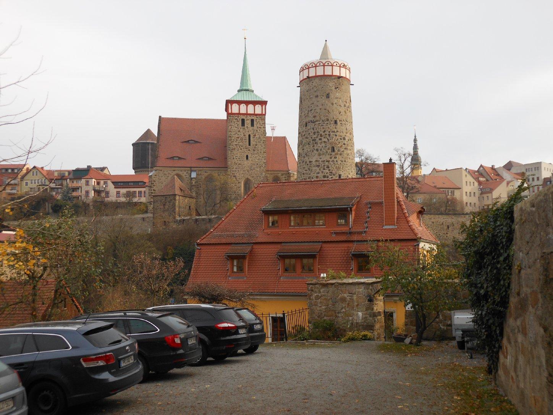 Alte Wasserkunst und Michaeliskirche in Bautzen