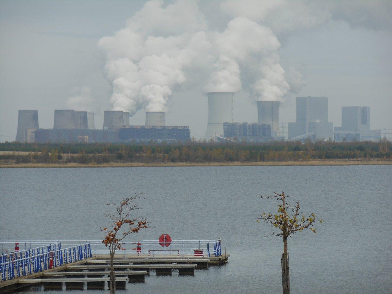 Bärwalder See und Kraftwerk Boxberg
