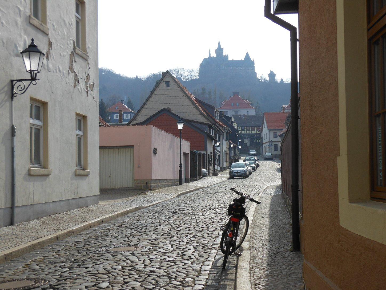 Blick zur Burg Wernigerode