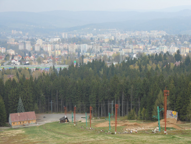 Skianlage bei Jablonec