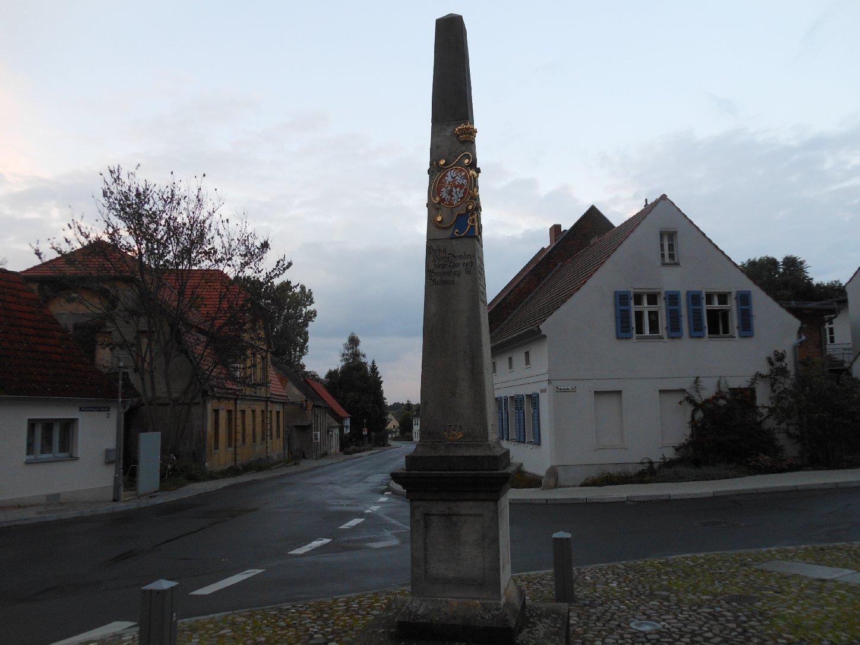 Sächsische Postmeilensäule in Bad Belzig