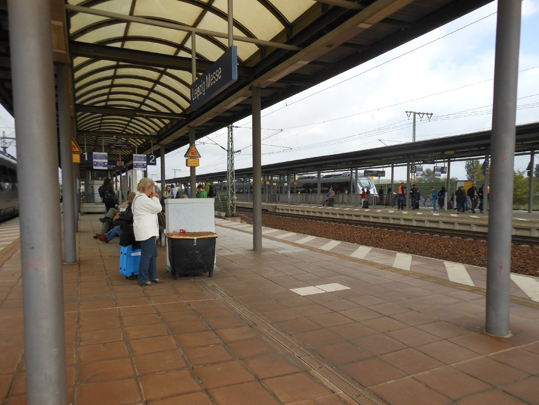 Bahnhof Leipzig Messe
