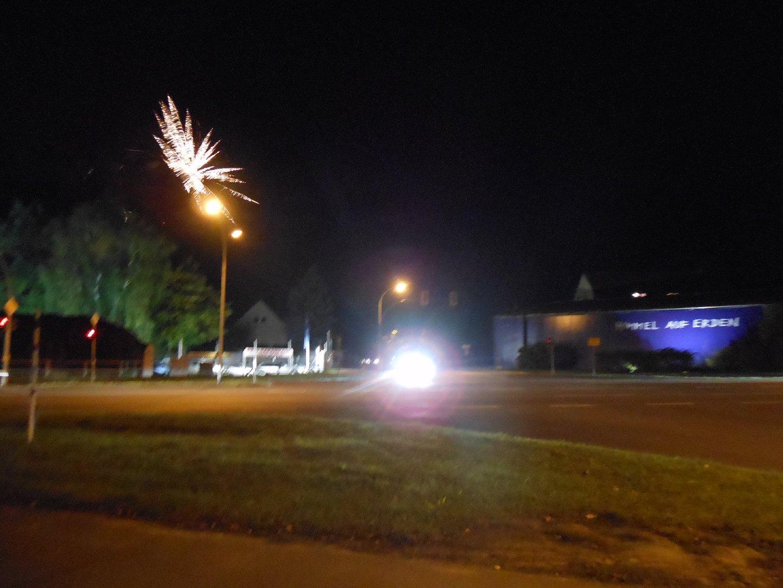 Feuerwerk in Mahlow