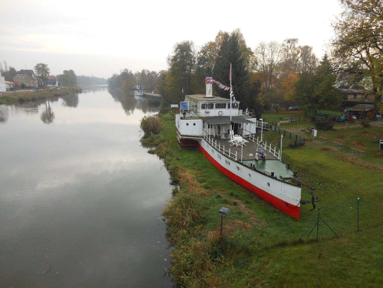 Oderberg mit Dampfer Riesa