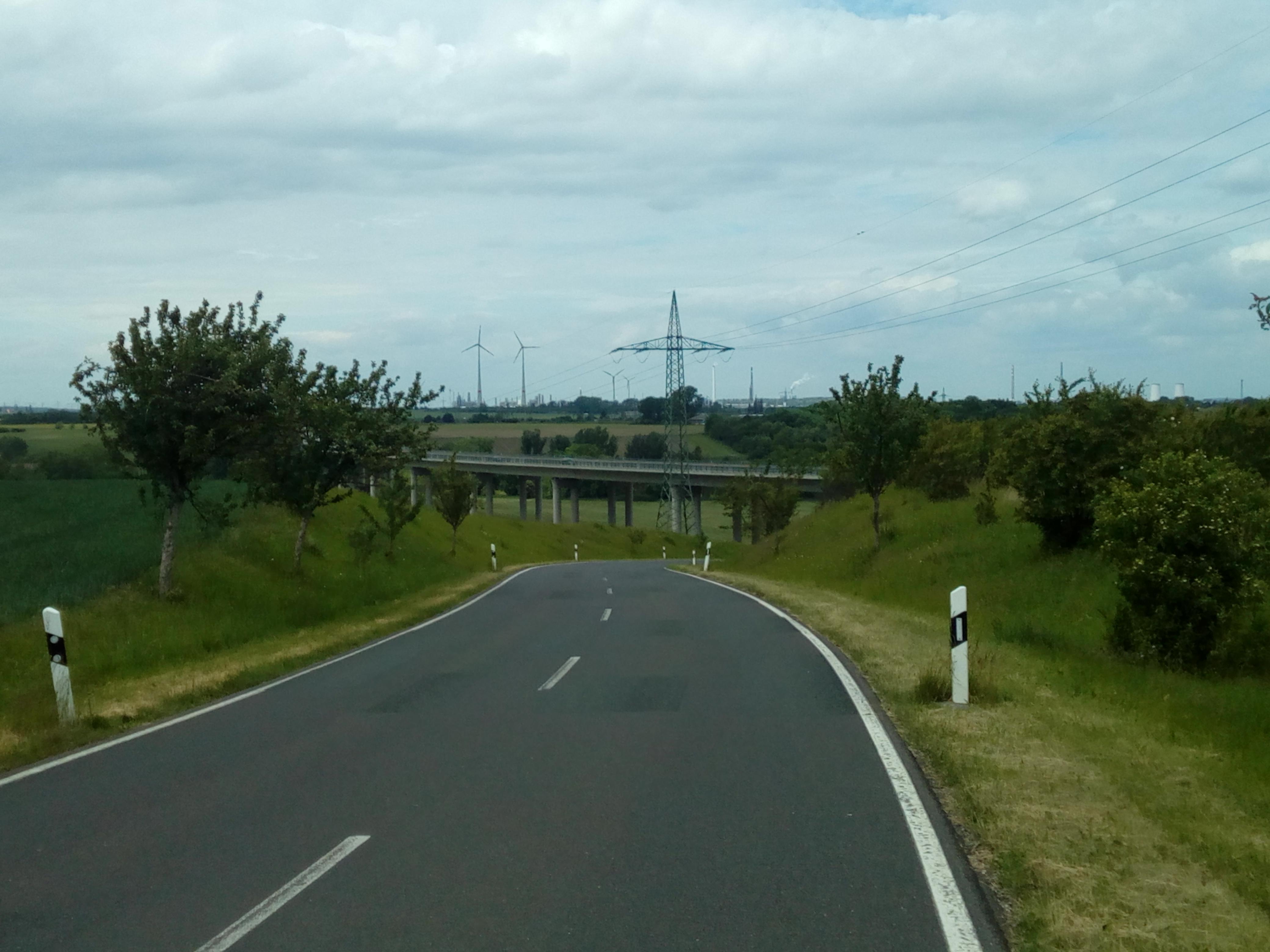 Autobahn A 38 bei Oeglitzsch